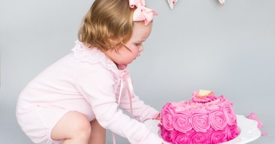 Cake Smash Halifax West Yorkshire – Esme´s Session