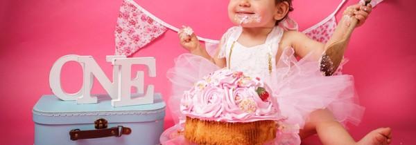 Cake Smash Bradford | Jorgie
