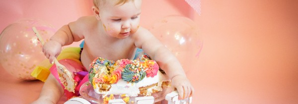 Cake Smash Photography Halifax | Lilly Grace