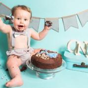 cake smash photographer Leeds West Yorkshire