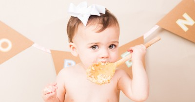 Cake Smash West Yorkshire – Florence's First Birthday