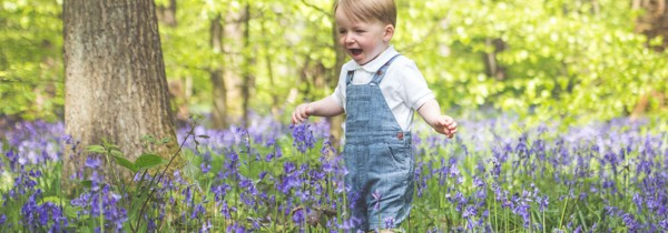 Family Photography Bradford | Charlie's Bluebell Mini-Session