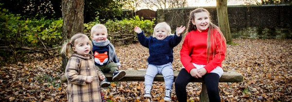 Family Photographer Oakwell Hall | Winter Session
