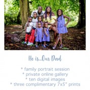 Fathers Day Family Photo Session West Yorkshire