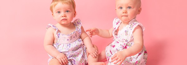 Cake Smash Photographer Bradford | Twins