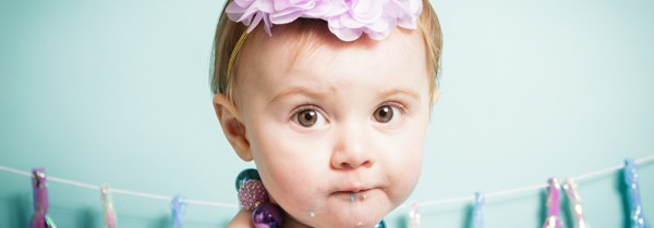 Cake Smash Photo Sessions Bradford | Mermaid Colours